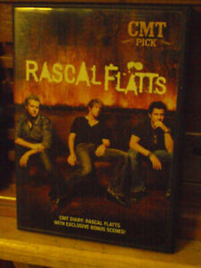 cmt  pick diary of country group rascle flatts dvd mint cond