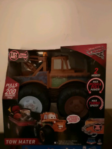 Mater talking tow truck from cars the movie. brand new