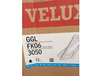 Velux Ggl fk06 pine roof window 66x118 with flashing kit