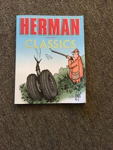 Herman comic book with two free novels