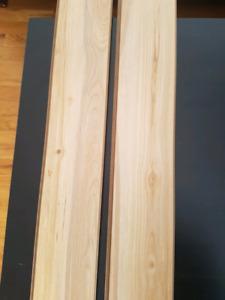 Planché laminé sans colle 13.5mm/No-glue laminate flooring
