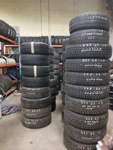 Set of 4 snow tires 245/45/18
