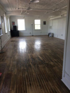 Beautiful Private Studio Space/Time Rental