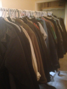 Men's designer and upscale casual clothing