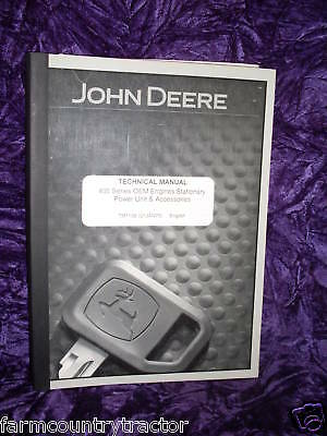 John Deere 400 Stationary Power Unit Service Manual