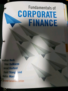 Fundamentals of Corporate Finance 2nd edition with online