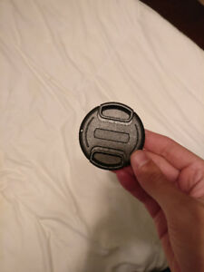 58mm Lens Cap - Pinch-Style