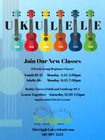 Beginner Group Ukulele @ The Giggle Lab