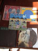 5 Disques - Vinyles *** Talking Heads  *** 5 Vinyl Record Albums