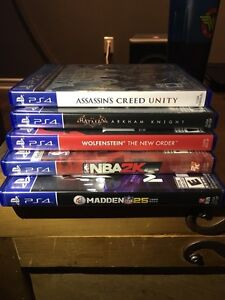 Selling my Ps4 games Kingston Kingston Area image 1