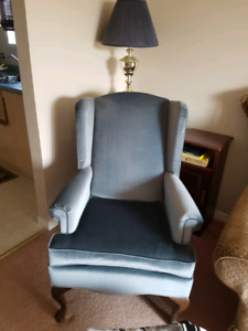 2 chairs with covers