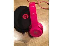 Solo Beats by Dr. Dre headphones