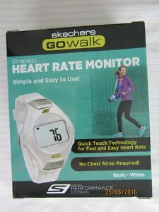 Skechers GoWalk strapless heart rate monitor New in Box