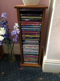 Wooden DVD Stand