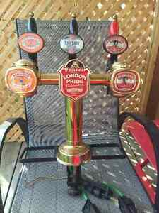 Man Cave addition - bar mount draft taps