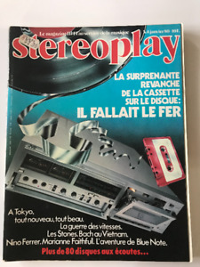 Magazine/revue Stereoplay Janvier 1980