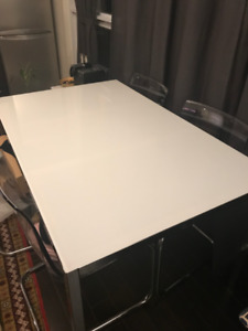IKEA TORSBY Dinning Table & 5 TOBIAS Dining Chairs