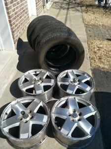 18''x7.5'' Dodge mags, good state