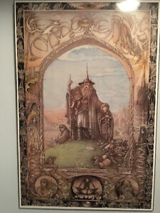 Hard Backed Glossy Lord of the Rings Poster Print