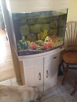 36 gallon with stand