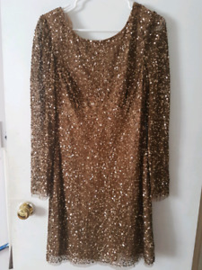 Adrianna Papeli brown sequence size 12