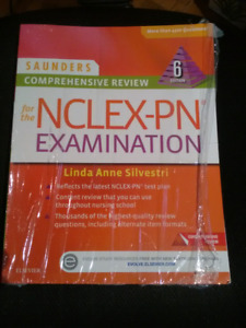 New, not used, Saunders Comprehensive Review for NCLEX-PN/ RPN