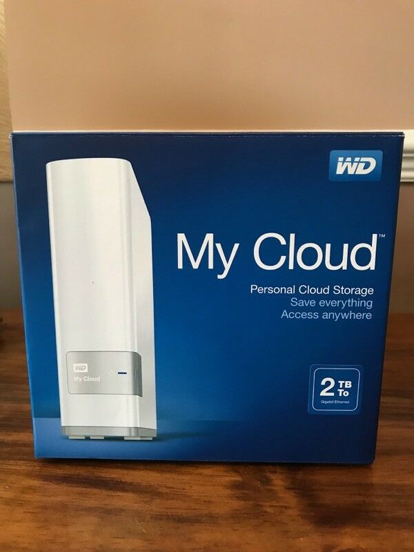 WD 2TB My Cloud Network Attached Storage NAS