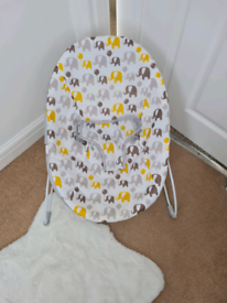 Baby sling chair.