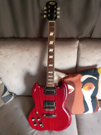 Stagg electric guitar left handed