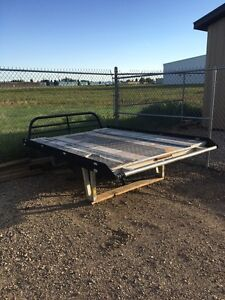 8 foot sled deck with telescopic ramp