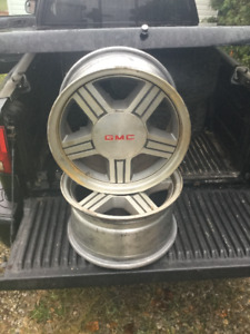 4/16''x8'' rims fit chevy/gmc s10/s15