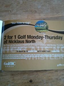 NICKLAUS NORTH GOLF 2 FOR 1 COUPONS!!!