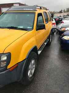 2004 Nissan Xterra SUV, Crossover
