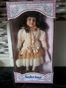 Collectible Porcelain Doll in Box