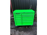 Snap On roll cab, Toolbox, chest, Tool Box In green
