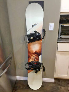 d953f51c830f Option Logic 153 Snowboard with Ride SPI Bindings