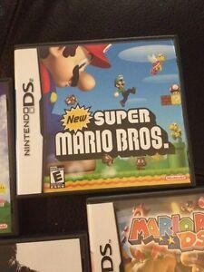 Nintendo DS games, New Super Mario Bros, Mario Party +2 more!