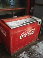 COKE & PEPSI MACHINES