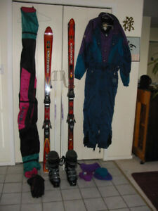 Complete men's ski package
