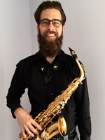 Saxophone lessons at home