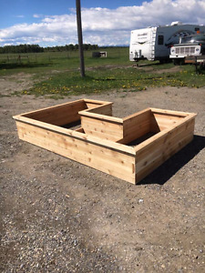 Custom planter boxes and garden beds