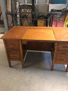 Solid Wood Office Desk