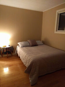 Single bedroom in home, semifurnished