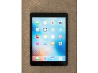 Apple iPad Air 16GB WiFi in Space Grey - mint condition