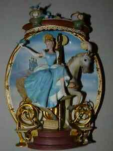 Cinderella 3D Carousel Plate - Ltd Edition Bradford Exchange