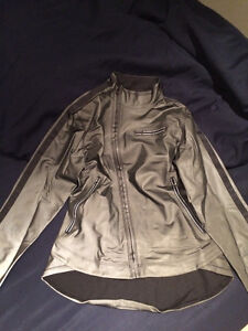 Lululemon Reflective Running Jacket (Size 8)