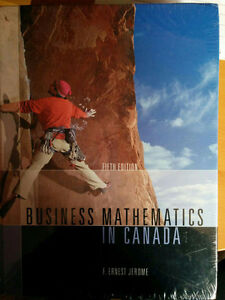 BUSINESS MATHEMATICS IN CANADA 5/e W/CD F. Ernest Jerome