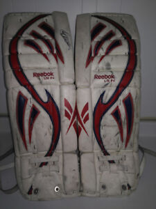 Francois Allaire signed:  Youth Goalie Equipment