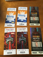 NBA ALL STAR Tickets - Section 320 Row 8 Seats 5,6