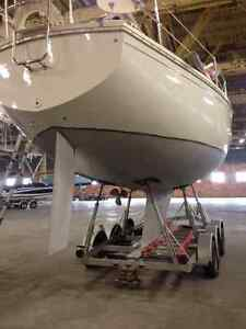 30 foot sailboat with trailer